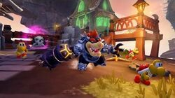OFFICIAL Skylanders SuperChargers Action Clips Dark Hammer Slam Bowser