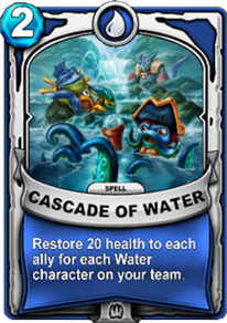 Cascade of Watercard