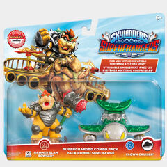 Bowser en su paquete doble junto con el Clown Cruiser
