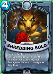 Shredding Solocard