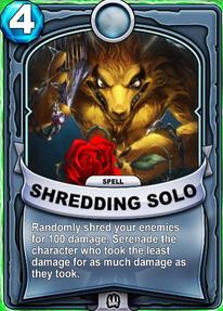 Shredding Solocard