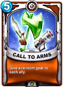 Call to Armscard