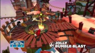 Meet the Skylanders Jolly Bumble Blast