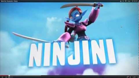 Skylanders Giants-Ninjini Preview