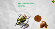 Voodood's Axe KILLED Bash's Parents!