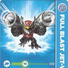 Carta de Full Blast Jet-Vac