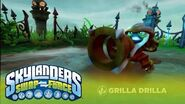 Meet the Skylanders Grilla Drilla l SWAP Force l Skylanders