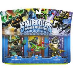 Boomer en paquete triple junto a Prism Break serie 1 y Voodood