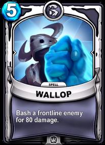 Wallopcard