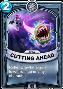 Cutting Aheadcard