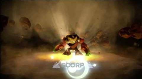 "Meet the Skylanders - Scorp ""King of the Sting!"" Official Trailer"