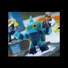 Figura de Gill Grunt de Mega Bloks