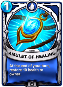 Amulet of Healing - Gearcard