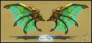 Dragon Wings by Roberto Moreno
