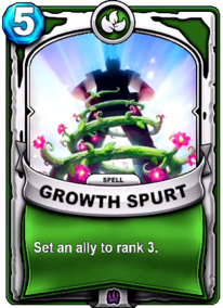 Growth Spurtcard