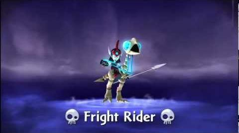 "Meet the Skylanders Fright Rider ""Fear the Spear!"""