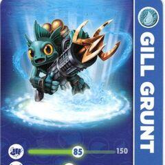 Carta de Gill Grunt serie 2