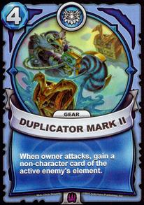 Duplicator Mark II - Gearcard