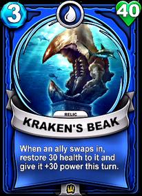 Kraken's Beak - Reliccard