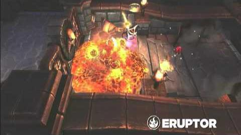 Skylanders Spyro's Adventure - Eruptor Preview (Born to Burn)
