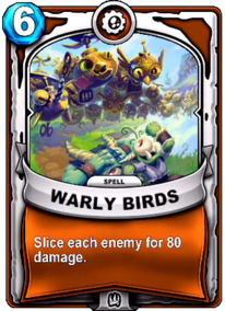 Warly Birdscard