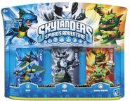 Skylanders spyros zap hex dinorang pack 1