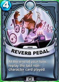 Reverb Pedal - Engranecard