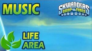 ♪♫ Life Elemental Area Skylanders SWAP Force Music
