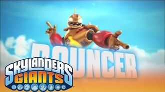 Meet the Skylanders- Bouncer l Skylanders Giants l Skylanders