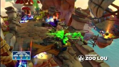 Meet the Skylanders Legendary Zoo Lou