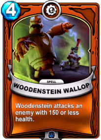 Woodstein Wallopcard