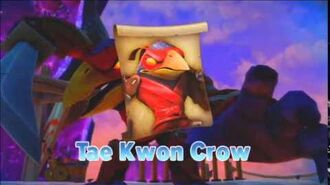 -♪♫- TAE KWON CROW - Villain Theme - Skylanders Trap Team Music