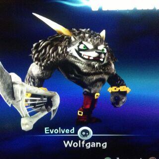 Wolfgang evolucionado