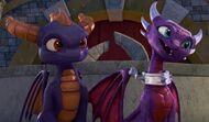 Academy Spyro Cynder2