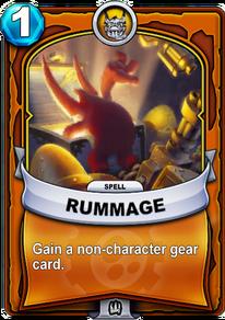 Rummagecard