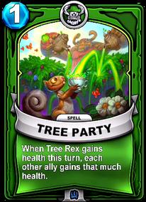 Tree Partycard