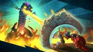 Fire Viper Master Eon KaBoom
