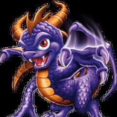 Antigua arte promocional de Spyro