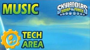 ♪♫ Tech Elemental Area Skylanders SWAP Force Music-0
