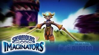 Official Skylanders Imaginators Meet Solar Flare Aurora
