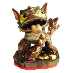 Rara figura de bronce de Hot Dog