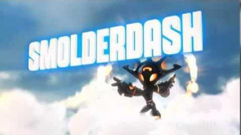 Skylanders Swap Force - Smolderdash Soul Gem Preview (A Blaze of Glory)