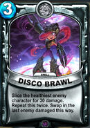 Disco Brawl Animated Card