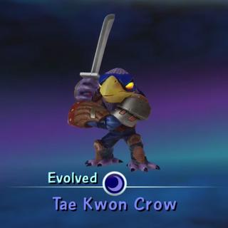 Tae Kwon Crow evolucionado