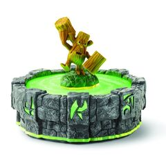 Figura de Stump Smash en el portal.