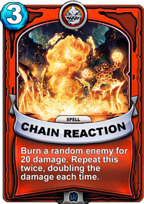 Chain Reactioncard