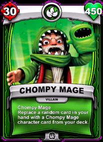 Chompy Mage - Habilidad Especialcard