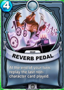 Reverb Pedal - Reliccard
