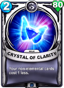 Crystal of Clarity - Reliccard