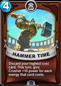 Hammer Timecard